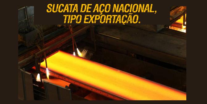 Sucata de aço tipo Exportação