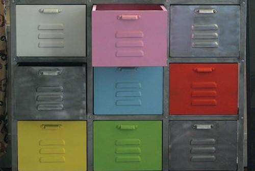 armario desgastado