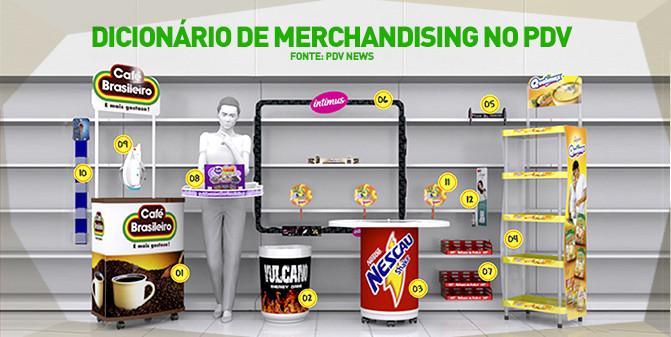 Dicionário merchandising ponto de venda. PDV NEWS