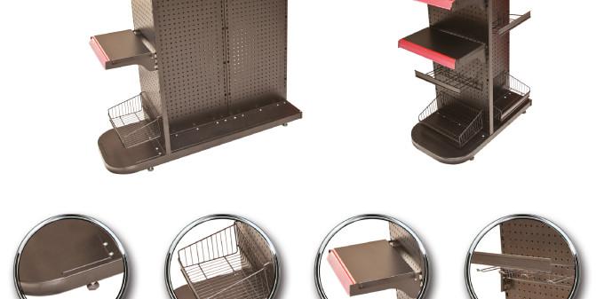 Nova Linha Check-Stand Prol Móveis de Aço
