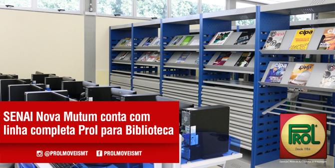 Biblioteca Prol - Senai Nova Mutum