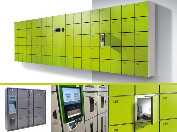 exemplos lockers modernos